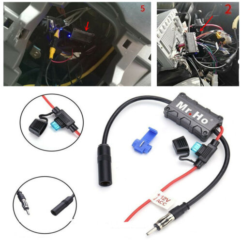 Car Special Radio Receiving Antenna Amplifier Lossless Distribution Terminals