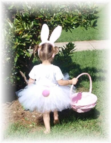Baby Girls Custom Easter Bunny Hat Ears Parade Tutu