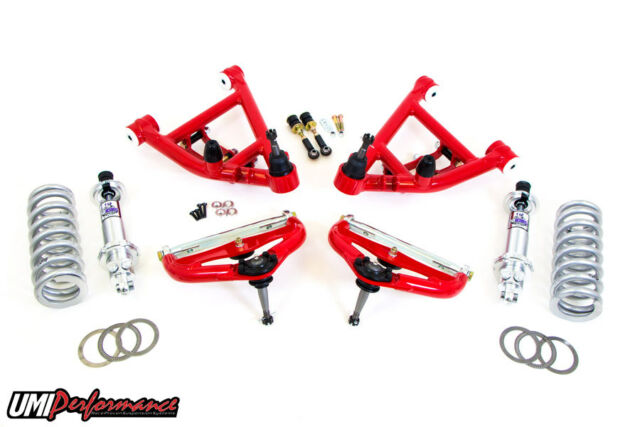 Umi Performance Competition Front End Kit 650lb Springs Street - Red