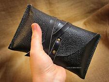 Tarot cards leather pouch case holder bag Rider Waite Zug grain buffalo leather