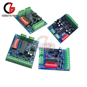 3-4-6-8-CH-Channel-DMX512-Decoder-RGBW-Controller-LED-Stage-Lighting-CMOS-Output