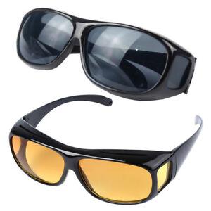 16720840da0 Image is loading HD-Anti-Glare-Night-Vision-Driving-Sunglasses-Unisex-