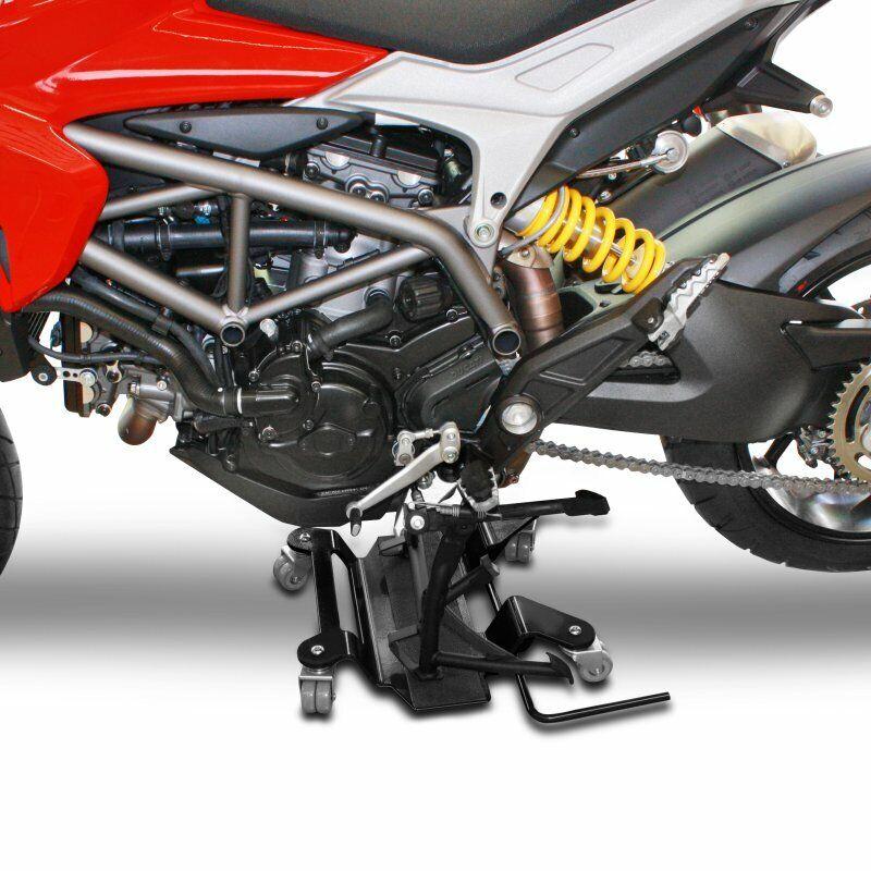 Rangierhilfe für BMW R 1200 GS Adventure Rangierplatte Rot