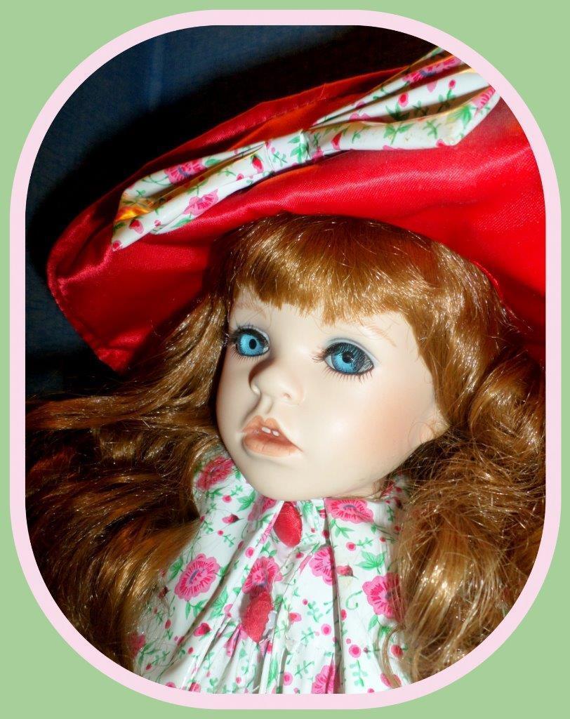 Seymour Mann's Porcelain Doll Meet Rita  1 of 2500 Rain Rain Go Away