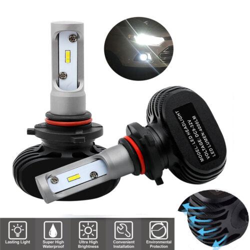 2x 50W 8000LM 9006 HB4 6000K CSP LED Headlight Bulbs 360° Super White Light Lamp