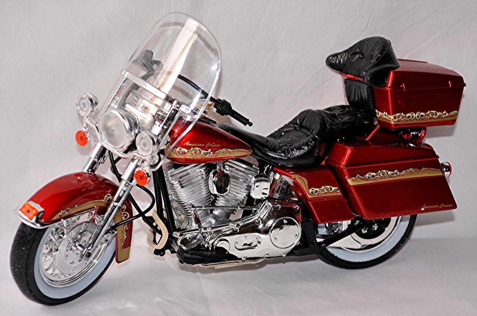 Personnalisée Classique Moto Américain Cruiser Rouge Rouge Métallisé 1 10