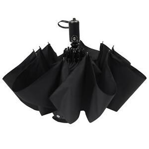 (US) Auto Open Umbrella UV Compact Folding Windproof Waterproof Travel Automatic