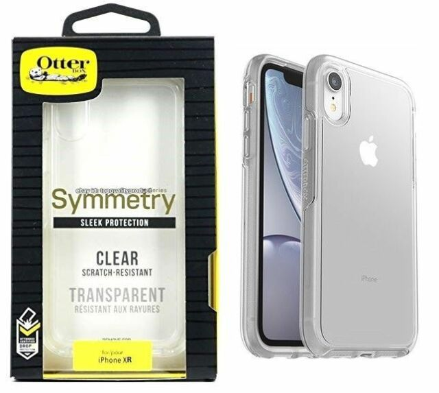 pretty nice 111e5 325ac OTTERBOX Symmetry Series Sleek Protection Case for Apple iPhone XR Clear  Ho312