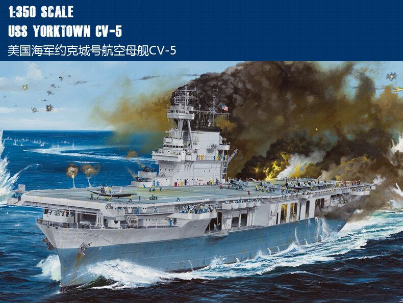Merit 65301 1  350 USS Airctaft bilrier Yorktown CV -5
