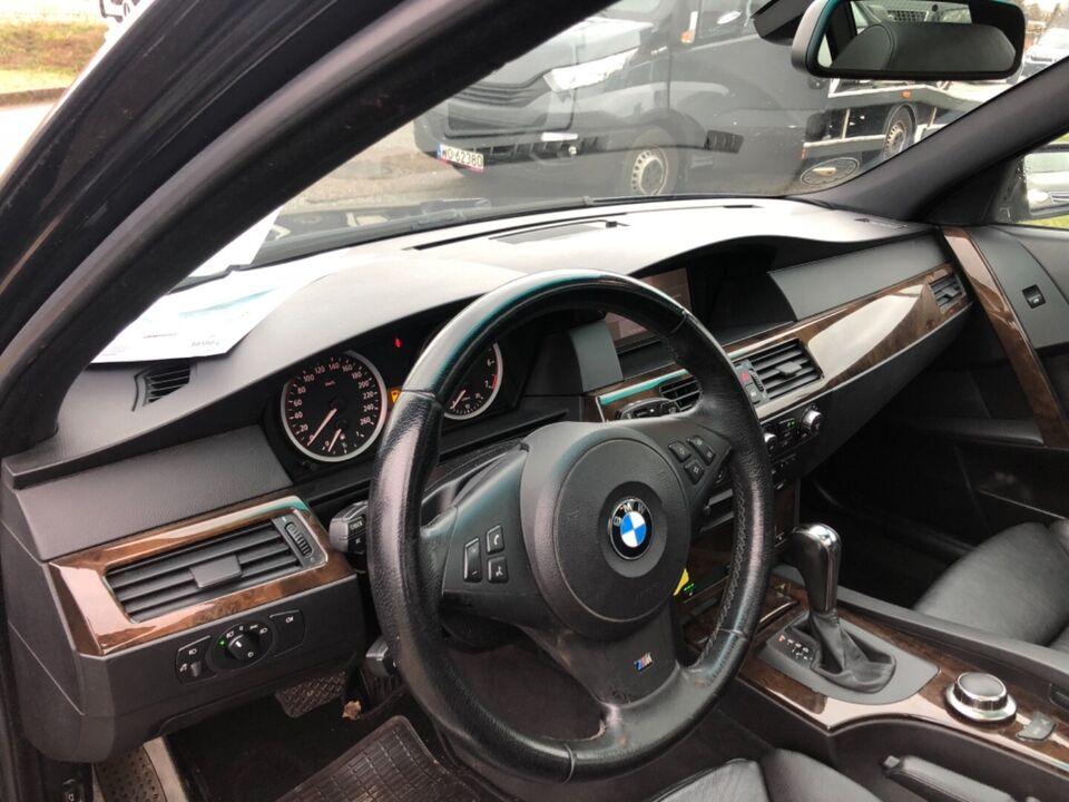 BMW 550i 4,8 Touring Steptr. Benzin aut. Automatgear