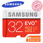 SAMSUNG EVO PLUS Micro SD 16 32 64GB New Class10 TF Card 80MB/S SDHC/SDXC UHS-1