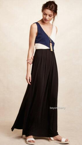 NEW Anthropologie Elysian Maxi Dress by Maeve  Size XS-S-L