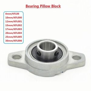 8//10//15//17//20//25mm Bore Diameter Mounted Bearings Ball Bearing Pillow Block OF
