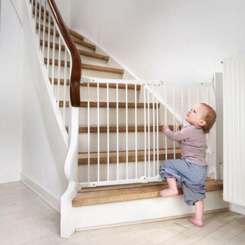 BabyDan Flexible Fit Stair Gate Diagonal Fit Baby Gate Pet Dog Screw Fit Gate