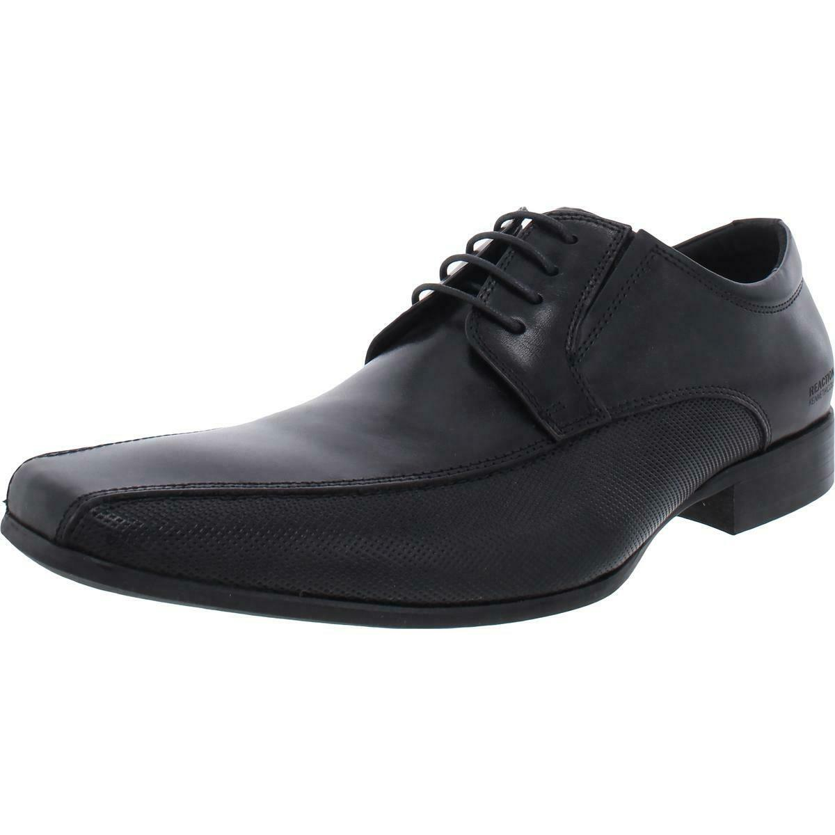 Kenneth Cole Reaction Mens Bro-Tential Leather Dress Oxfords Shoes BHFO 3031