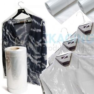 3d81c935d7bc Image is loading CLEAR-POLYTHENE-PLASTIC-GARMENT-COVERS-FILM-DRY-CLEANERS-