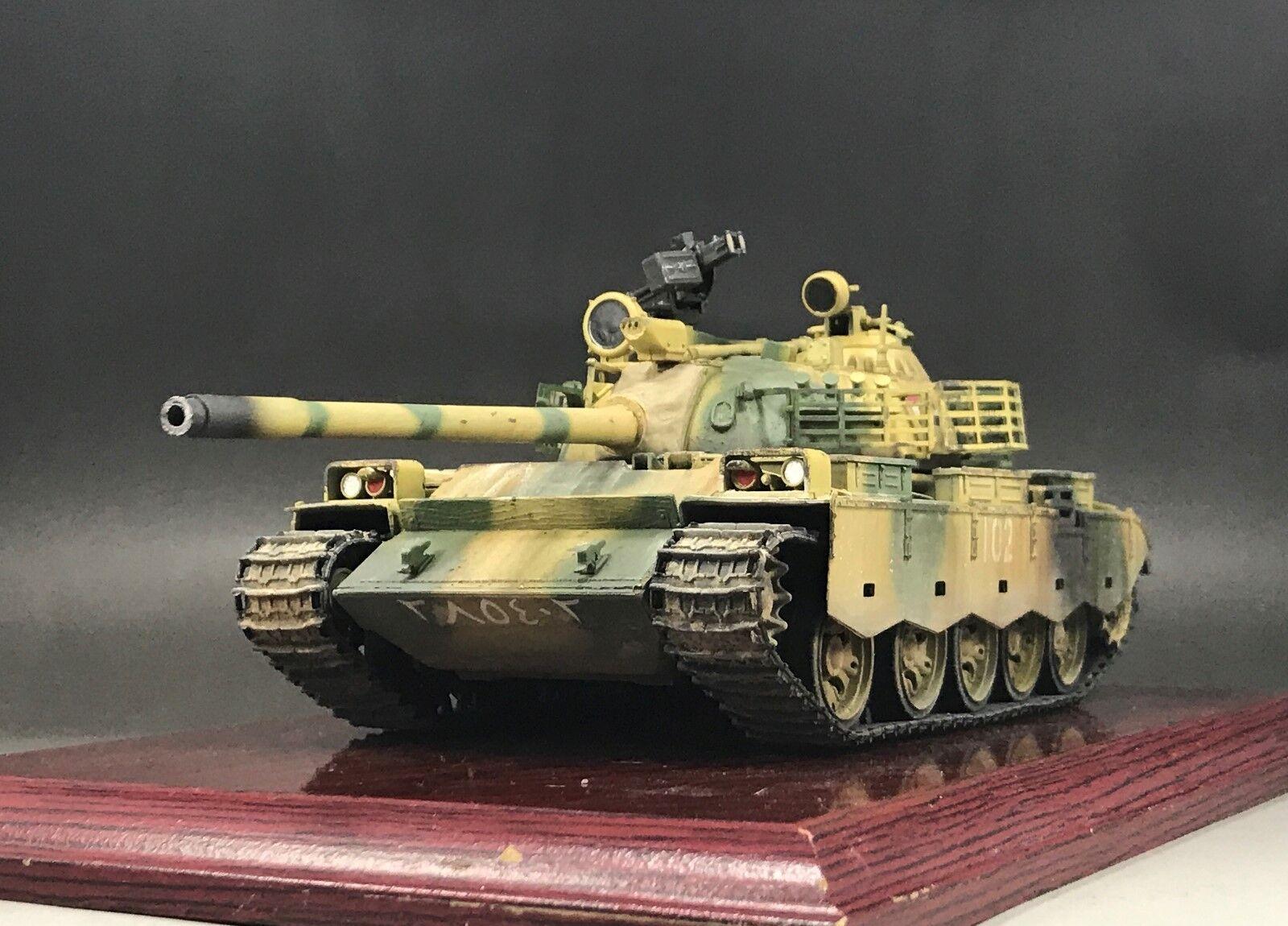 1  35 Byggd irakisk armé typ 69 Huvudstridstankmodelllllerl