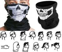 2 X Skeleton Skull Ski Face Mask Cycling Motorcycle Mask Bandana Cod Ghost