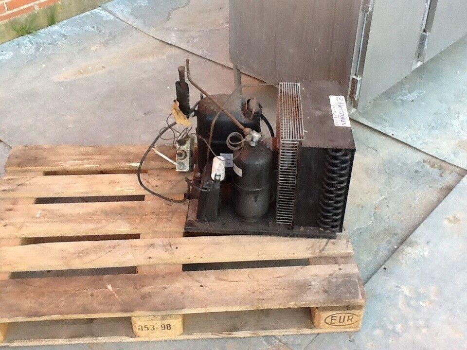 Køledisk / køleskab industri 3 rum INKL kompressor