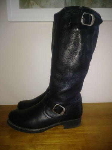Frye Veronica Motor Engineer Slouch Boots
