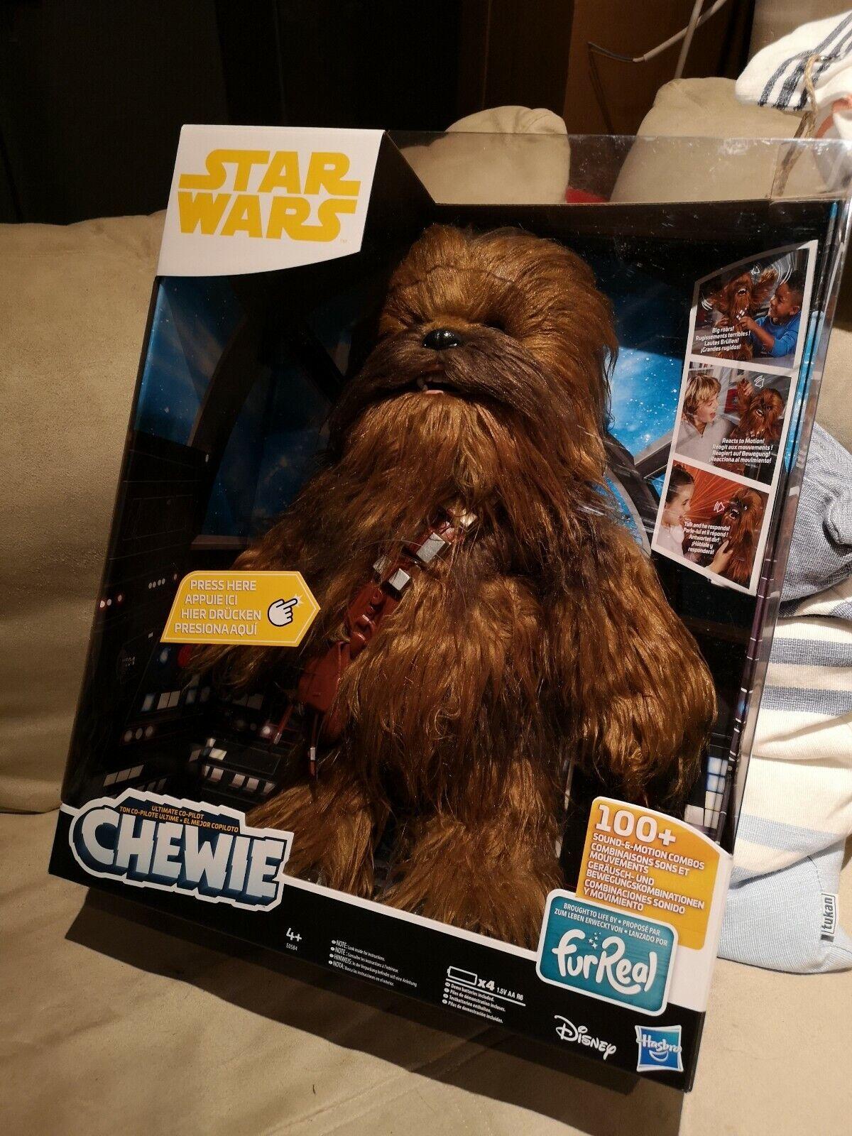 FurReal Star Wars - Chewbacca, interaktive Plüschfigur Neuware
