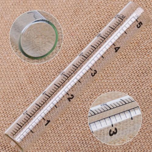 Regenmesser Niederschlagsmesser 14x2.2cm Glas ersatz garten Rain Gauge Tube