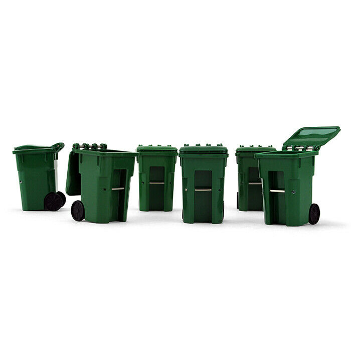 3Pcs//pack Trash garbage can container gag toy one set for children playing/_QE