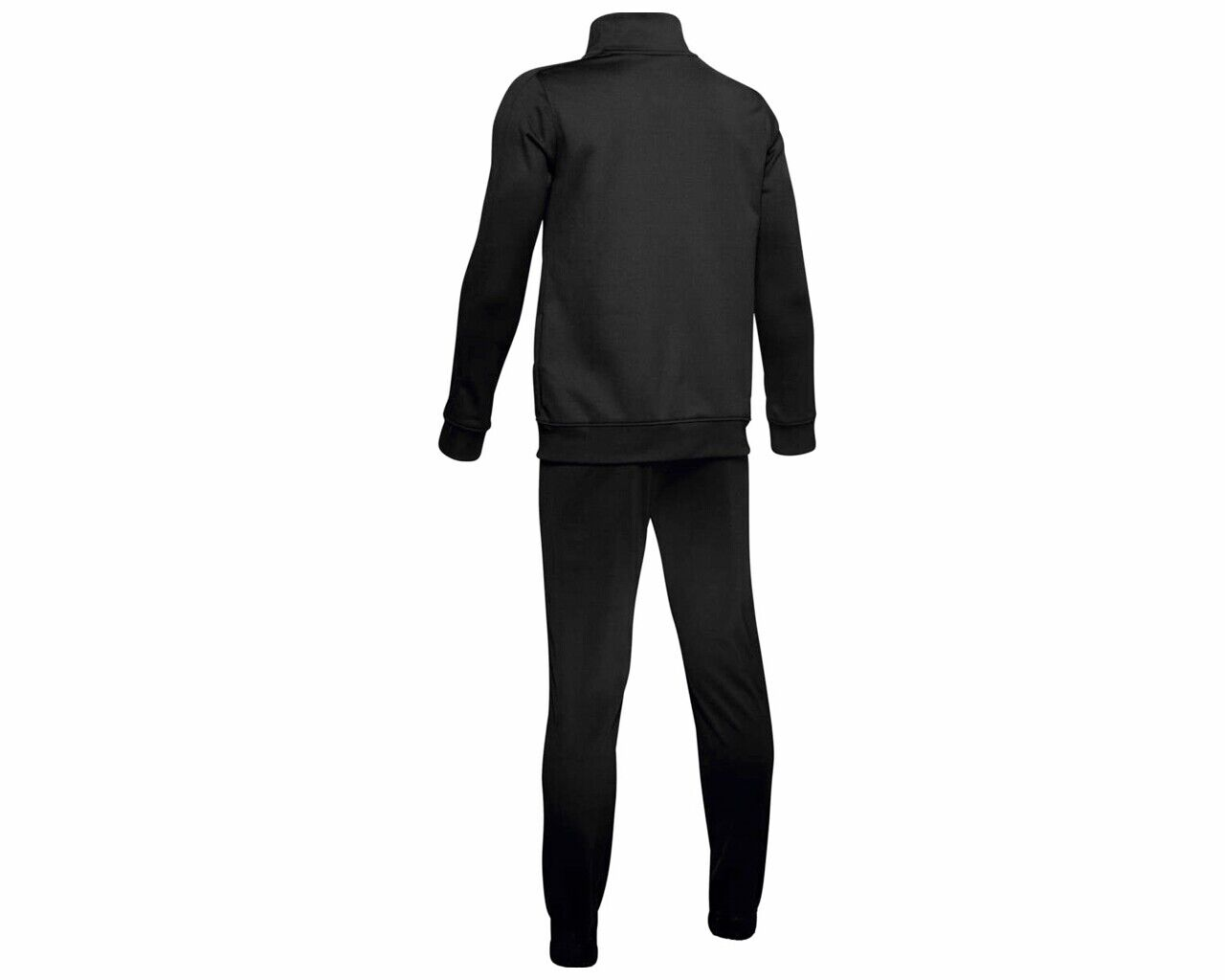 Under Armour Juniors 1347743 Full Zip Boys Tracksuit Black Jogsuit