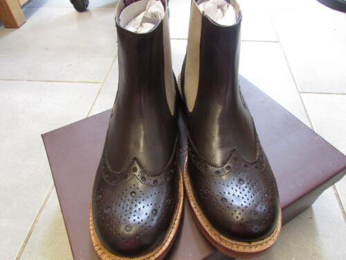 Chelsea Goodyear Brunswick Taglia Mens Boots Brogues 10 Welted Leather London wxXXqICF