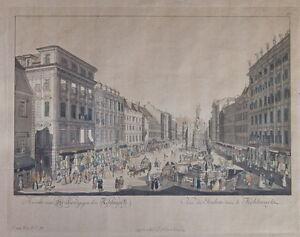 Kupferstich-Wien-1781-Ansicht-vom-Graben-gegen-den-Kohlmarkt-7291