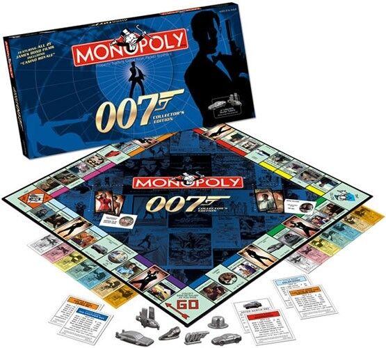 Monopoly-James Bond 007 Monopoly Collezionisti Edizione 2006 BOARD GAME USAopoly