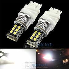 2X 1400 LM 60W 7443 White High Power 3535 Chip LEDs Backup Reverse Light Bulbs