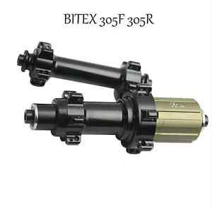 Bitex-305F-305R-straight-pull-road-bike-wheel-hubs