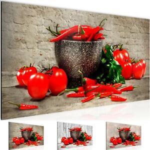 Details zu WANDBILDER XXL BILDER Küche - Gemüse VLIES LEINWAND BILD  KUNSTDRUCK 005812P