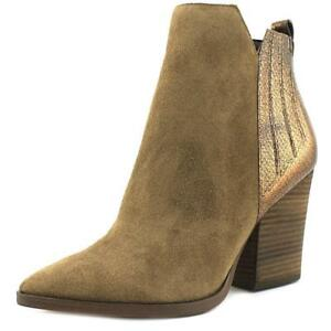 GUESS Millie Boots Brown Suede Leather