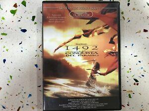 1492 La Conquista Del Paradiso DVD Scott Gerard Depardieu Spagnolo Inglese