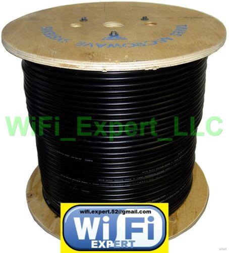 TIMES® 100/' LMR195 LMR240 LMR400 LOW LOSS FLEX COAX RF CABLE NO CONNECTORS USA