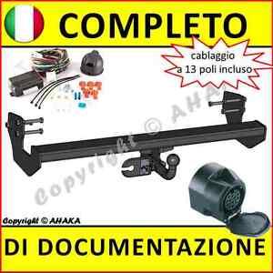 Gancio-di-traino-Mercedes-Benz-Vito-II-Viano-W639-2003-fisso-centralina-13-poli