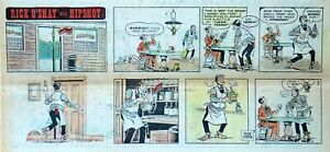 Rick-O-039-Shay-by-Stan-Lynde-full-color-Sunday-comic-page-February-9-1975