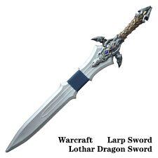 "40"" WOW Cosplay Lothar Deluxe War Craft LARP FOAM Anime Sword Cosplay"