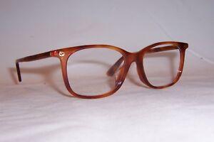 a09d02028c513 A imagem está carregando Novo-oculos-Gucci-Gg-0157OA-003-Havana-52mm-
