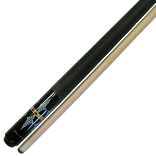"""48/"""" Short 2 Piece Hardwood Maple Pool Cue Billiard Stick Choose 18 or 19 Ounce"""