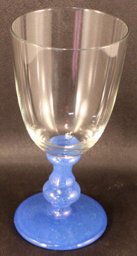 """Wine Goblet EXCELLENT CONDITION Villeroy /& Boch Blue Isabelle 6 7//8/"""" Water"""