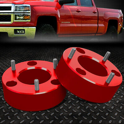 For 2007 2017 Silverado Sierra 1500 Red 3 Front High Mount Leveling Lift Kit Ebay