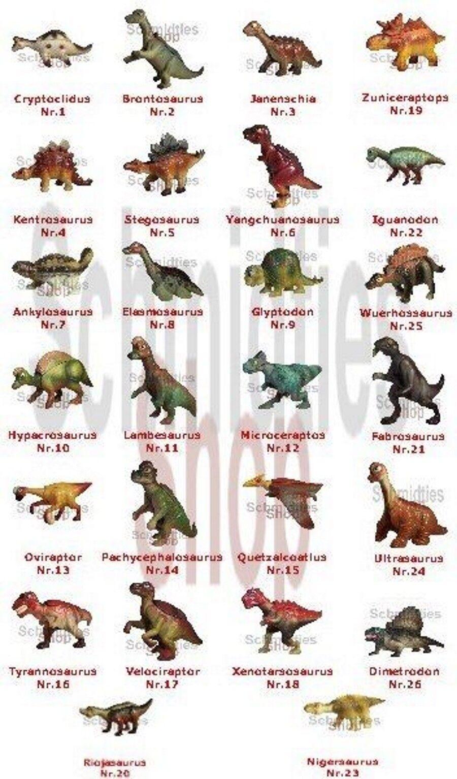 Dinosauri A  tuttia Z - 26er KIT COMPLETO  offrendo il 100%