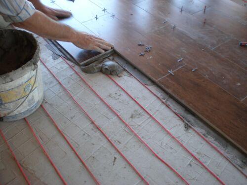 0EMF 14-18sq m -220-240 V Warm Tile Under Floor Heating System 150-190sq.ft.