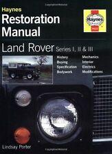 Land Rover Series I, II and III Restoration Manual (Haynes (HB) - 1859606229