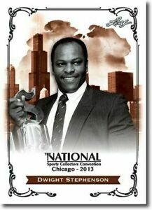DWIGHT-STEPHENSON-2013-LEAF-NATIONAL-EXCLUSIVE-COLLECTORS-PROMO-CARD