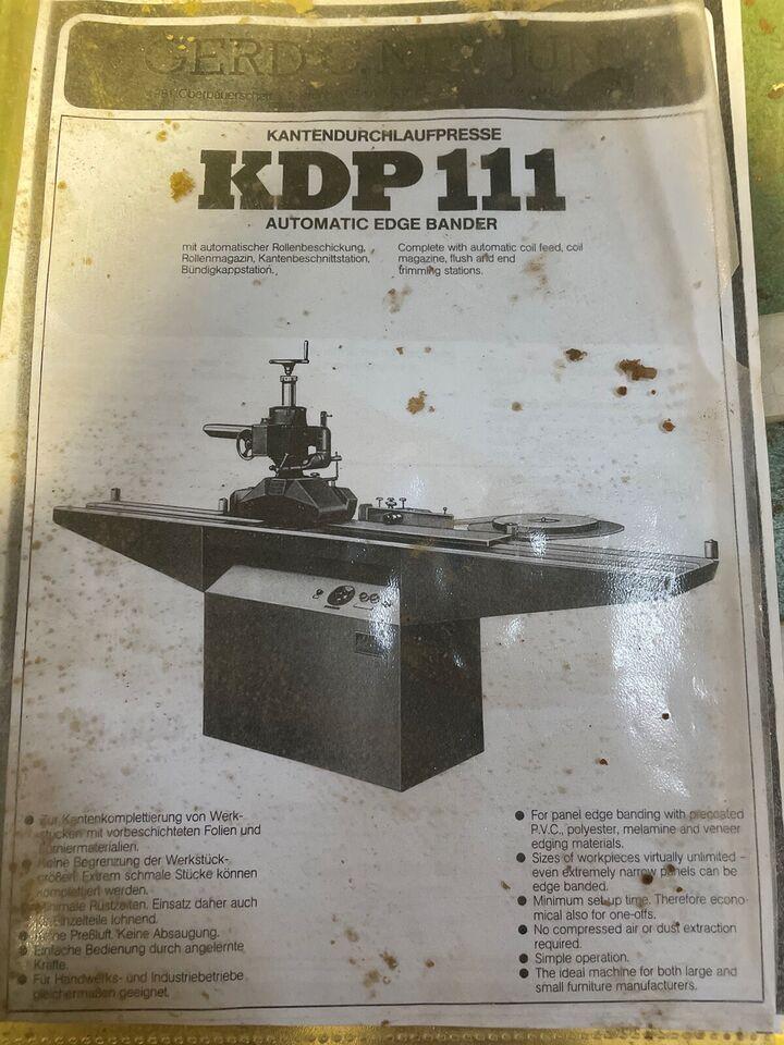 Kantlimer , KDP 111