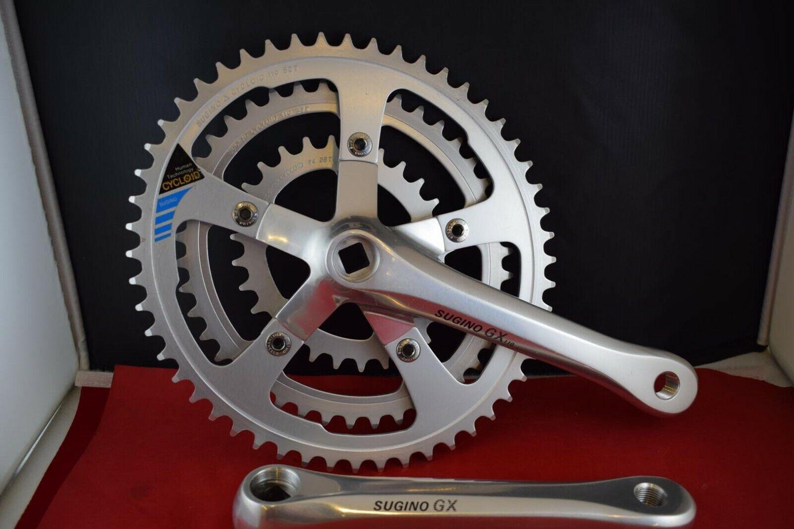 Sunrace Crank Set fcs750 44z 170mm without Chain Guard Silver Bike